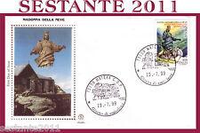 ITALIA FDC FILAGRANO 1999,  MADONNA DELLA NEVE MONTE ROCCIAMELONE MOMPANTERO F1