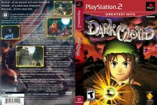 Dark Cloud Sony PlayStation 2 PS2 Case Artwork and Game Disc SCEA Sony RPG Game