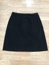 Exclusively Misook Black Knot Stretch Skirt l