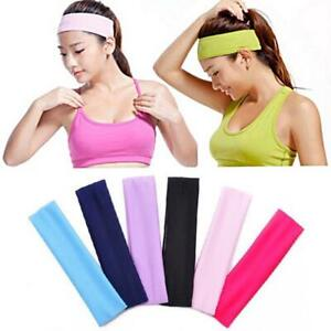 Pack HEADBAND Stretch Sport Yoga Gym Haarband Wrap Sweatband Womens Mens
