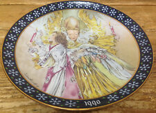 Sulamith Wulfing Bradex Collectors Plate 1990 Light of the Holy Night 22-k46-5.6
