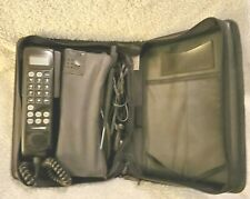 Vintage Motorola Cellular One Car Phone With Case SCN2523A
