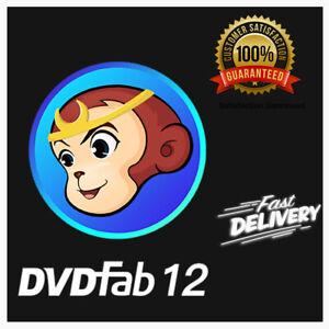 DVDFab 12 Video Converter Guenine License Key +1 year