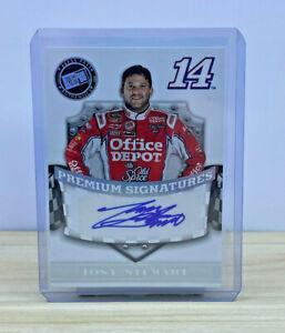 2009 NASCAR Press Pass Premium Signatures - Tony Stewart