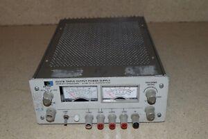 HEWLETT PACKARD 6237B TRIPLE OUTPUT POWER SUPPLY 0-18V. 0-1A (QM)