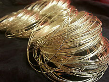 Bollywood BellyDancing Wedding INDIAN Loose Bangles Silver Plt 10 Pcs Pattern
