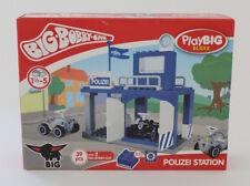 Big Bobby Car Polizei Station Playbig Bloxx Kleinkind-Spielzeug 39 Teile