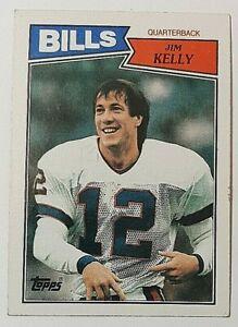 1987 Topps #362 Jim Kelly Rc Buffalo Bills Hall of Fame QB