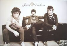 "JONAS BROTHERS ""GROUP SITTING ON COUCH"" POSTER FROM ASIA - Kevin, Joe, Nick"
