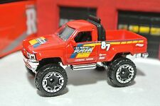 Hot Wheels 1987 Toyota Pickup Truck - Red - Loose - 1:64 Off-Road 4x4