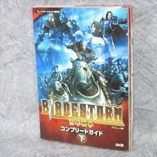 Entscheidungsspiel Blade Storm Hyakunen Senso Guide 2 ps3 Buch KE 11 *