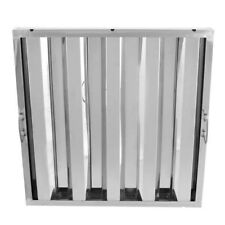 """20"""" x 20"""" Stainless Steel Hood Grease Commercial Exhaust Filter Baffle Kitchen"""