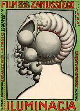 The Illumination 1973 Krzysztof Zanussi Polish movie poster
