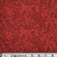 """Red - Razzle Dazzle  100 % Cotton """"Marshall Dry Goods"""""""