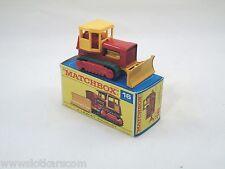 Matchbox Lesney # 16 Bulldozer - Case tractor neuf/boîte (#MBB)