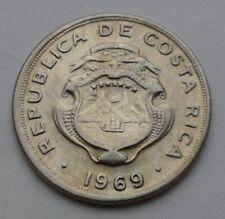 Costa Rica 10 Centesimos 1969(s) B.C.C.R. KM#185.2. Ten Cents coin San Francisco