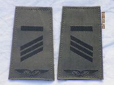 insignes de grade la BW : CAPORAL, entre autres, Armée l'air, fermeture scratch,