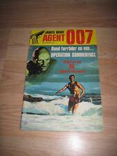1977 James Bond 007 #36 Danish Version International Comic Book/Free Shipping!