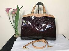 100% Authentic Louis Vuitton  Amarante Vernis Brea GM shoulder bag excellent