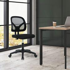 Ergonomic Office Chair Executive Armless Mesh Task Chair Computer Desk Chair