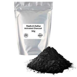 Activated Charcoal Powder 100% Pure Food Grade Natural Coconut Shells 25g-1kg