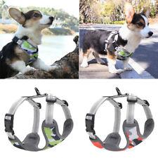 Small Dog Harness Reflective Adjustable Small Medium Puppy Mesh Corgi Vest XS-M