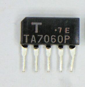 TA7060AP Toshiba Integrierte Schaltung Sip ''UK Company SINCE1983 Nikko ''