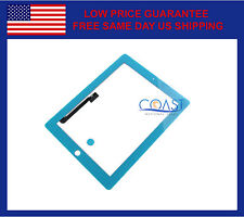 iPad 3 & iPad 4 Replacement Touchscreen Digitizer Front Panel - Light Blue
