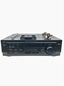 JVC Audio Video Control Receiver RX-6010V RX-6010VBK No Remote Tested & Works