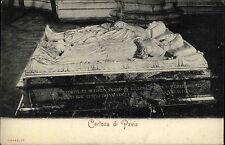 Pavia Italy Lombardei ~1900 Grabmal Ludovico Sforza Tomba Tomb Church ungelaufen