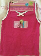 BARBIE SINGLET & BRIEF SET SIZE 2 BRAND NEW
