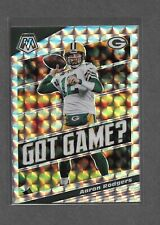 2020 Panini Mosaic Got Game Silver Prizm Aaron Rodgers Packers