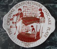The original Staffordshire oatcake plate mayfair pottery