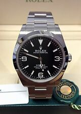 Rolex Explorer I 39mm 214270 Black Dial - Box & Papers 2016