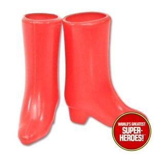 "Mego Wonder Woman Boots Repro 8"" Action Figure WGSH Custom Part Lot"