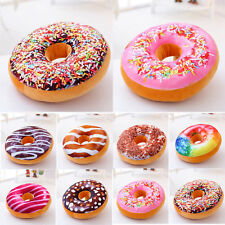 Funny Donuts Throw Pillow Cases Doughnut Cushion Covers Home Bedroom Decor M