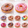 Cute Donuts Shape Throw Pillow Case Doughnuts Cushion Covers Home Decor Colorful