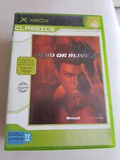 Dead Or Alive 3 XBOX Classics, complet jeu et notice