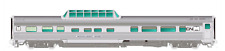 RAPIDO 1/87 HO CN CANADIAN NATIONAL BUDD MID-TRAIN DOME CAR SUNLIGHT 116010 FS