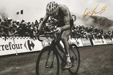 Geraint Thomas print photo - Pre Signed -12 x 8 inches - Tour De France