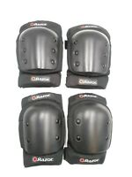 Razor Youth M Black Multi-Sport Protective Elbow & Knee Pads