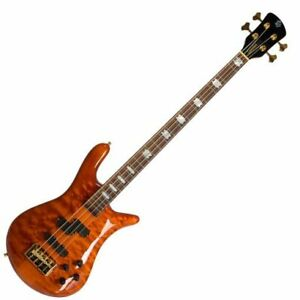 Spector Euro 4 LX 4 String Electric Bass Amber Gloss