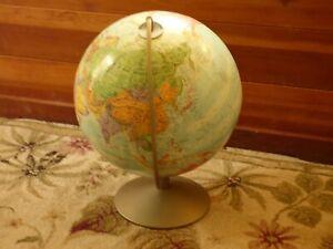Vintage 1964 Replogle Stereo Relief Globe
