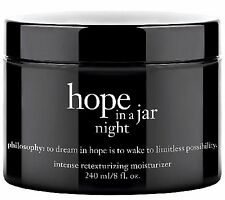 Philosophy HOPE IN A JAR NIGHT 8 oz MASSIVE SIZE!  AMAZING! NEW! AUTHENTIC!
