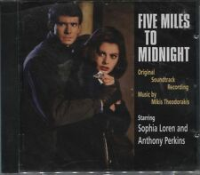 Five Miles To Midnight: Original Soundtrack - New CD (Harkit) - Theodorakis