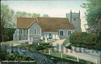 FARNBOROUGH Church Postcard nr London Bromley LONDON Pict. Postcard Pioneers