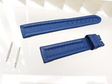Genuine Ellesse Orologio Cinturino in pelle blu + PIN 16 mm (a55