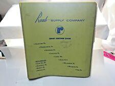 1971-1972-1973 RAUB Supply Co Catalogs ADELTA,CSG,HONEYWELL,CARNES,ARMSTRONG