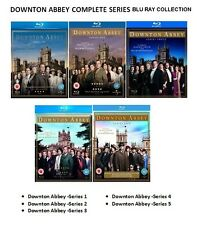 DOWNTON ABBEY COMPLETE SERIES 1-5 Blu-ray Seasons 1 2 3 4 5 Original UK Release