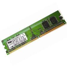 RAM Barrette Mémoire PROMOS V916732J24QAFW-E4 256Mo DDR2 PC-4200U 533Mhz CL4